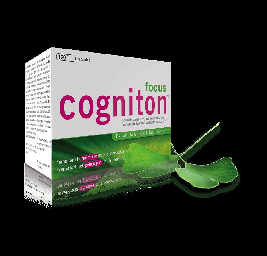 Boite Cogniton Focus 120 capsules