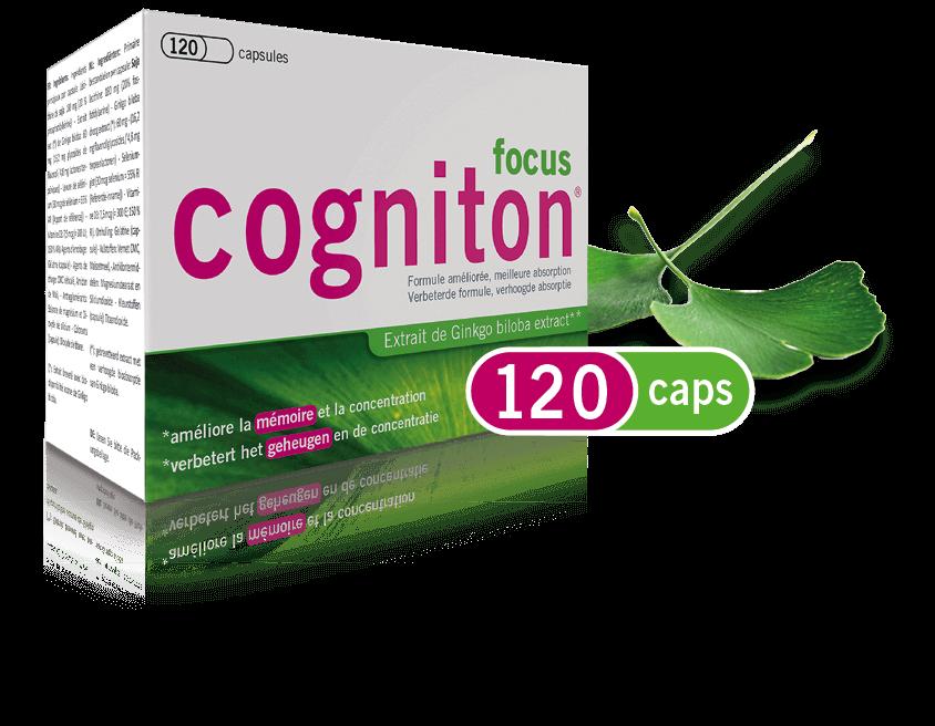 Cogniton focus boite de 120 capsules