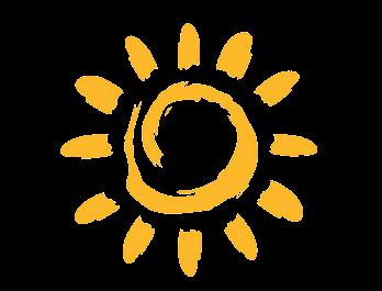Soleil représentant vitamine D